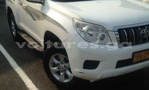 Acheter Occasion Voiture Toyota Land Cruiser Prado Blanc à Libreville au Estuaire