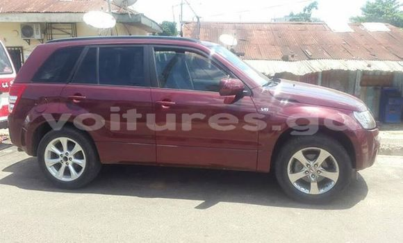 Acheter Occasions Voiture Suzuki Grand Vitara Rouge à Libreville, Estuaire