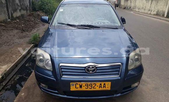 Acheter Occasion Voiture Toyota Avensis Bleu à Libreville, Estuaire