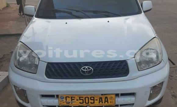 Acheter Occasion Voiture Toyota RAV4 Blanc à Libreville au Estuaire