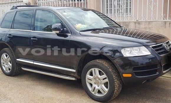 Acheter Occasion Voiture Volkswagen Touareg Noir à Libreville au Estuaire