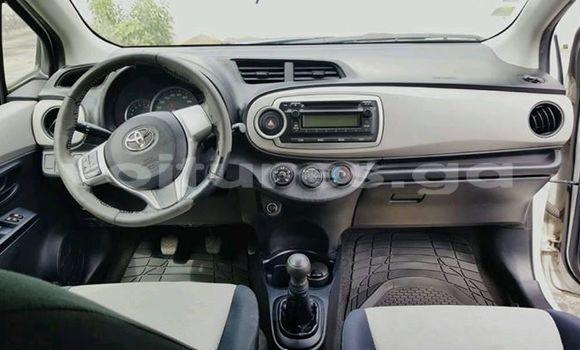 Acheter Occasions Voiture Toyota Yaris Blanc à Libreville au Estuaire