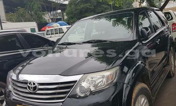 Acheter Occasions Voiture Toyota Fortuner Noir à Libreville au Estuaire