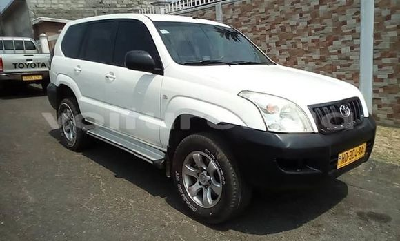Acheter Occasions Voiture Toyota Land Cruiser Prado Blanc à Libreville au Estuaire