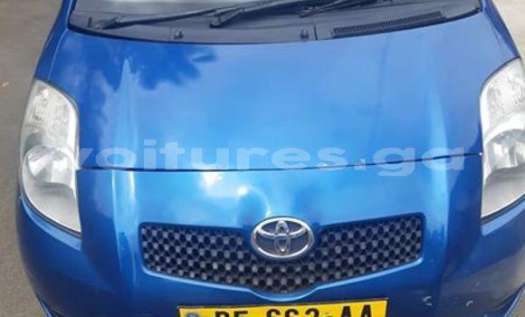 Acheter Occasion Voiture Toyota Yaris Bleu à Libreville, Estuaire