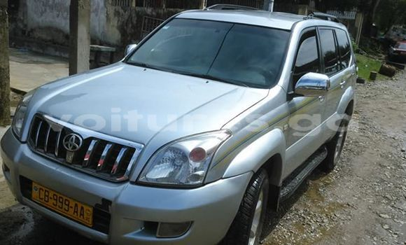 Acheter Occasion Voiture Toyota Land Cruiser Prado Gris à Libreville, Estuaire