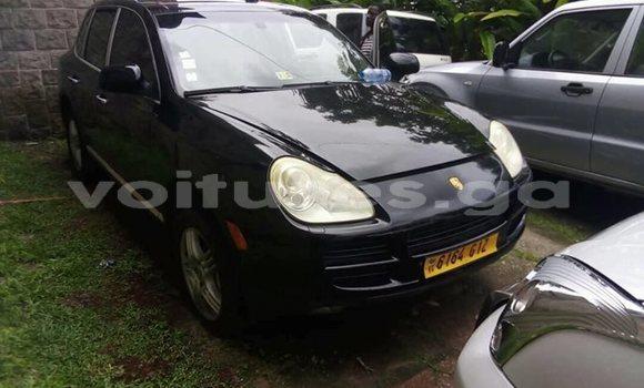 Acheter Occasion Voiture Porsche Cayenne Noir à Libreville, Estuaire