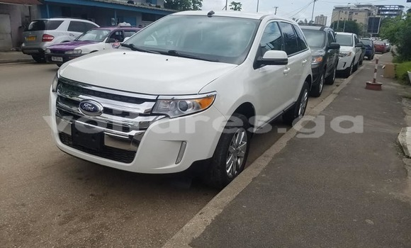 Acheter Occasion Voiture Ford Edge Blanc à Libreville, Estuaire