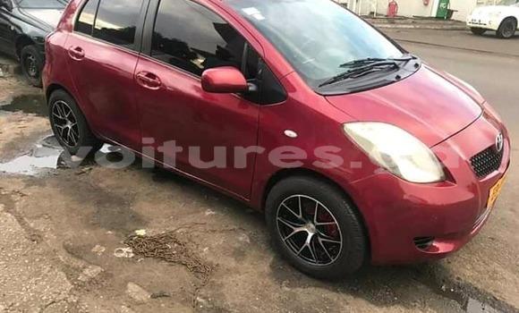 Acheter Occasion Voiture Toyota Yaris Rouge à Libreville, Estuaire