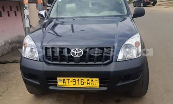 Acheter Occasion Voiture Toyota Land Cruiser Prado Noir à Port–Gentil, Ogooué-Maritime