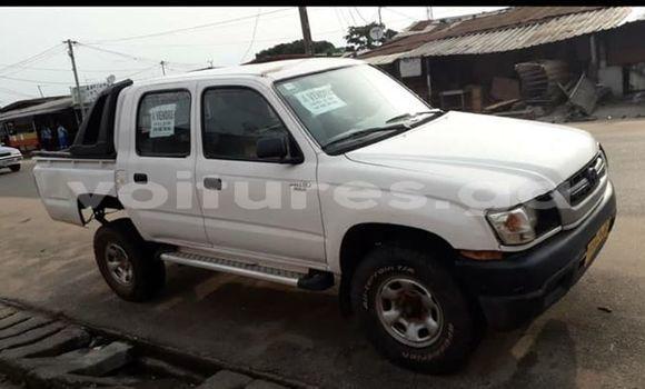 Acheter Occasion Voiture Toyota Hilux Blanc à Port–Gentil, Ogooué-Maritime