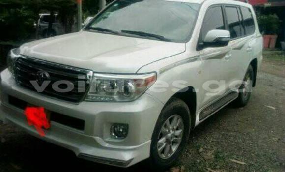 Acheter Occasion Voiture Toyota Land Cruiser Blanc à Libreville, Estuaire