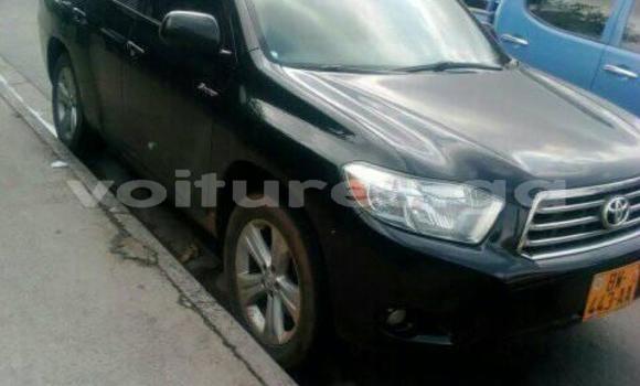 Acheter Occasion Voiture Toyota Highlander Noir à Libreville, Estuaire