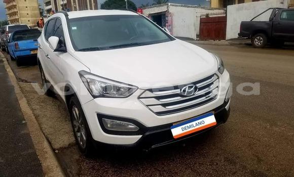 Acheter Occasion Voiture Hyundai Santa Fe Blanc à Libreville, Estuaire