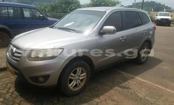 Acheter Occasion Voiture Hyundai Santa Fe Gris à Libreville, Estuaire