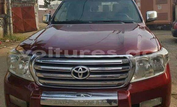 Acheter Occasion Voiture Toyota Land Cruiser Rouge à Libreville, Estuaire