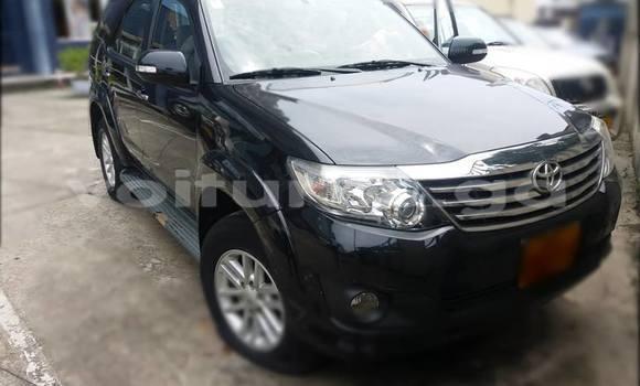 Acheter Occasion Voiture Toyota Fortuner Noir à Libreville, Estuaire