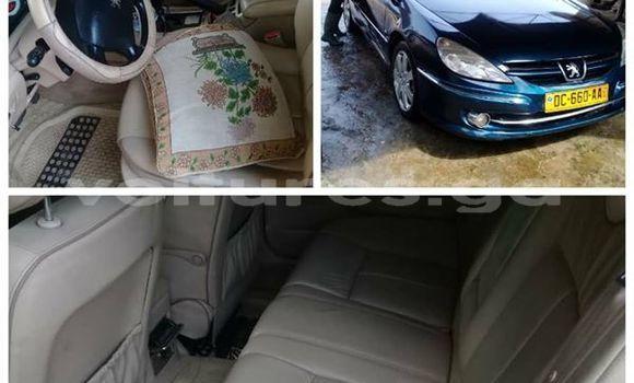 Acheter Occasion Voiture Peugeot 607 Bleu à Libreville, Estuaire