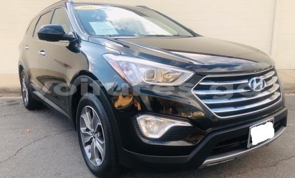 Acheter Importé Voiture Hyundai Santa Fe Noir à Libreville, Estuaire