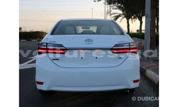 Acheter Importé Voiture Toyota Corolla Blanc à Import - Dubai, Estuaire