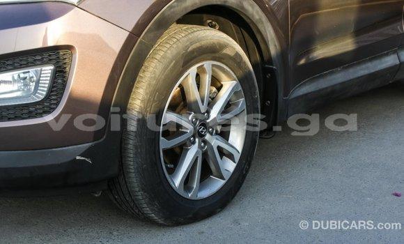Acheter Importé Voiture Hyundai Santa Fe Marron à Import - Dubai, Estuaire