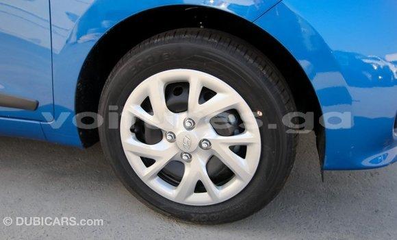Acheter Importé Voiture Hyundai i10 Bleu à Import - Dubai, Estuaire