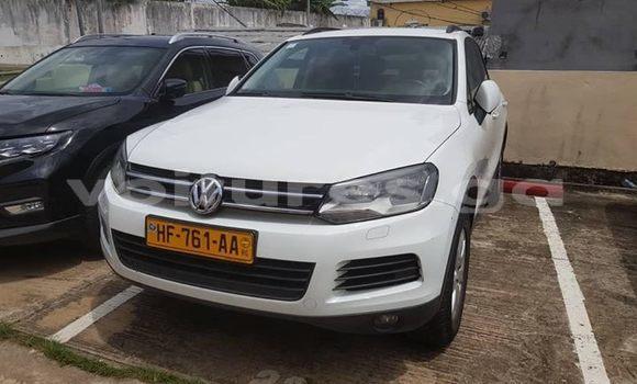 Acheter Occasion Voiture Volkswagen Touareg Blanc à Libreville, Estuaire