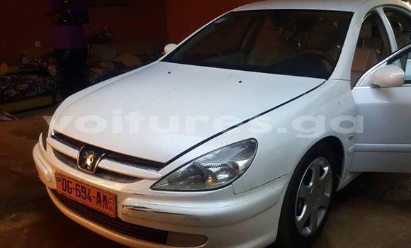Acheter Occasion Voiture Peugeot 607 Blanc à Libreville, Estuaire